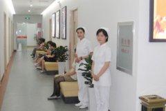 红房子妇产医院二楼走廊